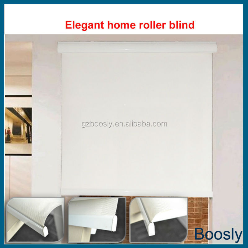 Motorized Roll Up Blinds Made Of 100 Sunproof Roller