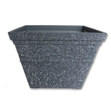 large thick plastic flower pot garden pot