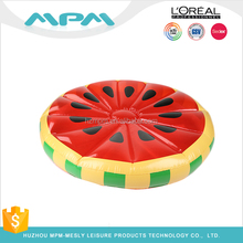 inflatable watermelon float funny water melon pool float plastic fruit life raft