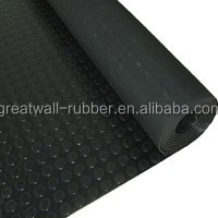 "Elongation 250% Coin Round button rubber sheet Smooth or Fabric Impression Rubber Sheet 1/2"" Thick x 12"" Width x 12"" Length"
