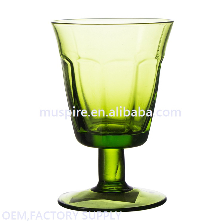 China supplier import grade flash drinking juice glass