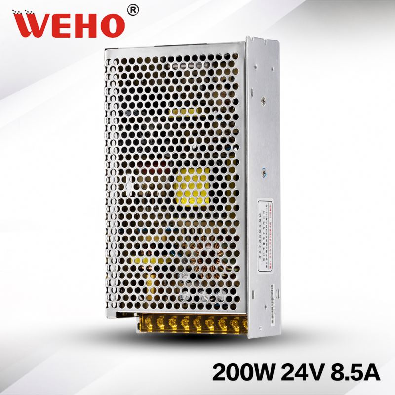 220VAC 24vdc AC TO DC power supplier 200w 24v power supply