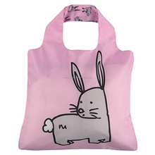 Cheap recycled polyester foldable shopping bag with custom printing