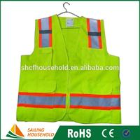 Wholesale Red Safety Reflective Vests Security