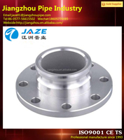 stainless steel forged puddle flange