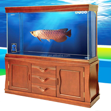 boyu glass custom aquarium fish tank stainless steel landscaping aquarium