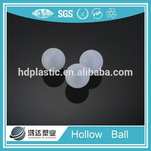 33mm hollow plastic balls for deo roll on bottle
