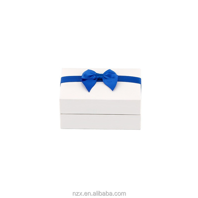 OUXI Top quality Wholesale price blue double ring jewelry box paper BZ-06829000