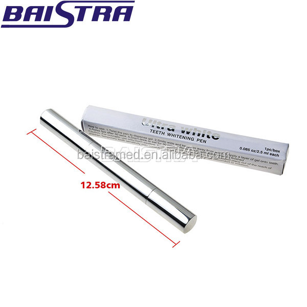 Popular Bleach Remove Stains White Color Teeth Whitening Pen