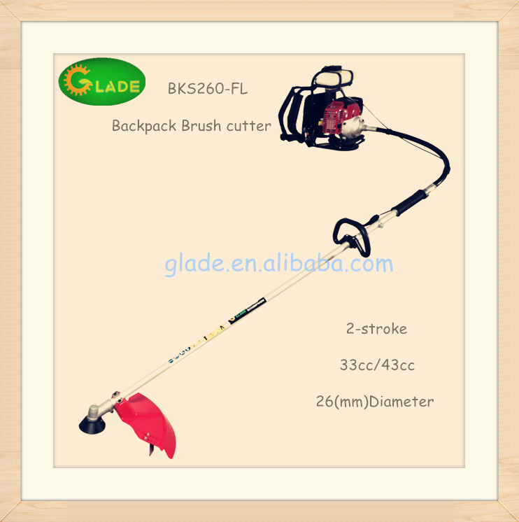 gasoline power grass cutter road grass cutter
