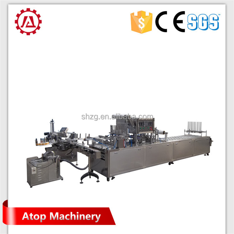 Good price yogurt cup filling sealing machinery manufacturer