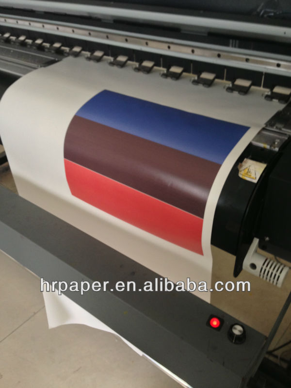 1620mm full sticky dye sublimation transfer paper for sublimation jersey