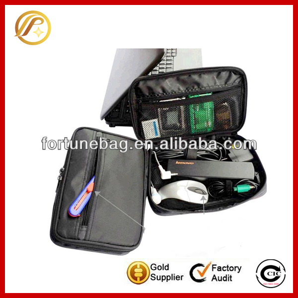High quality travel computer cable bag cable IT accessories organizer