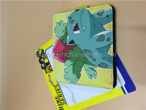 Gzdonnafashion Hot Anime Anime Purse PU Wallets