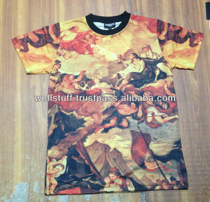 custom sublimation t shirt / quality subimation shirts / 3D sublimation & printing / timely delivery services
