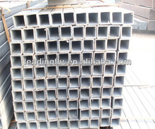 high quality pre-galvanized thin walled square steel pipe rectangle steel pipe greenhouse pipe