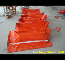 China floatation PVC oil spill absorbent containment boom