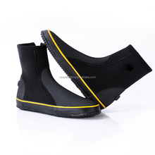 High quality 5mm neoprene nylon diving shoes swimming boots