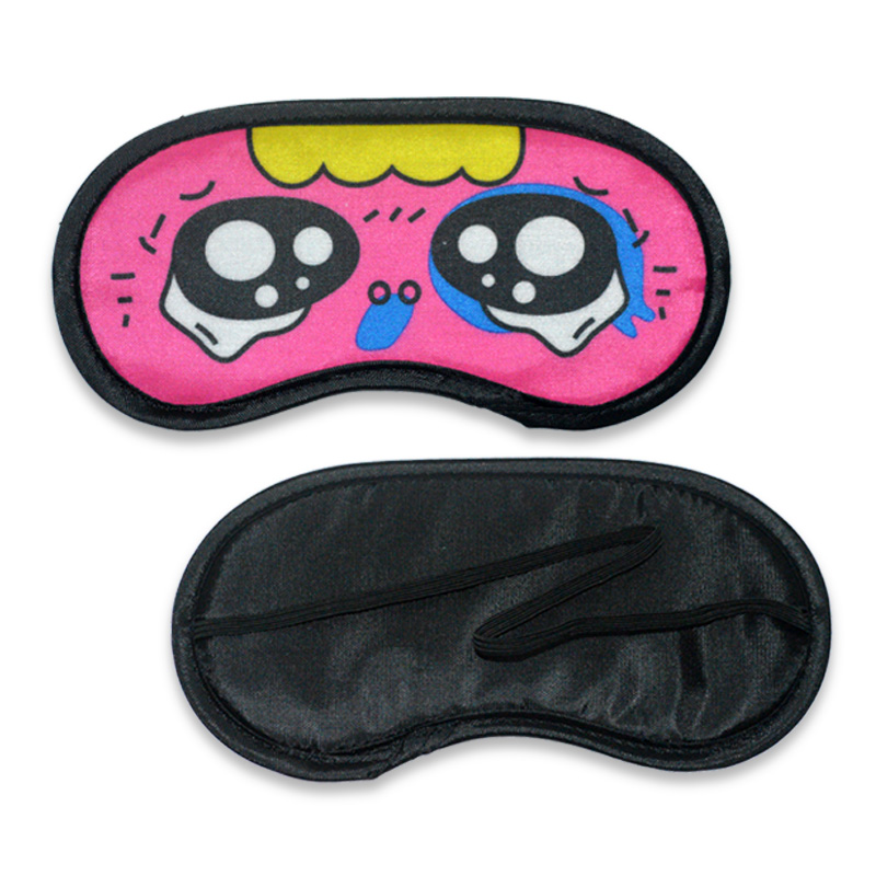 2016 promotion cotton disposable eye sleep mask