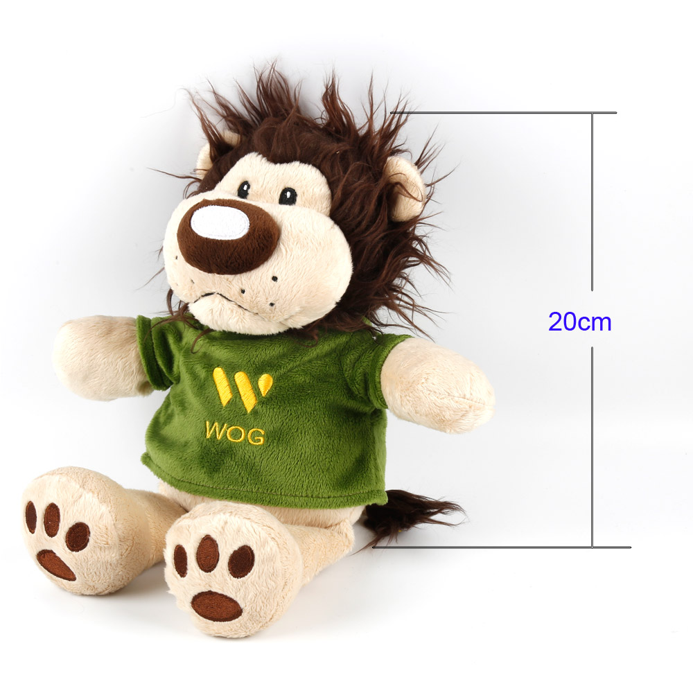 ICTI certificate toy factory plush animal soft toys lion mini stuffed lion toy