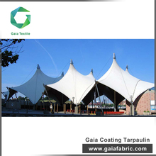 Custom outdoor promotional roofing membrane pvc coated tarpaulin fabric
