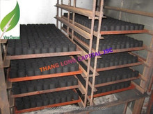 No chemical high quality barbecue coconut shell charcoal briquttes