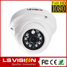 LS VISION 1.3 megapixel ip mini dome camera weatherproof cameras ntsc pal cctv 1080p home security camera system