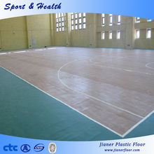 Basketball PVC Indoor Rolls Sports Floor