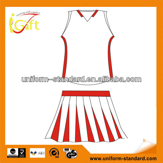 Wholesale Fashion Cheap Red Sexy adult cheerleading costumes