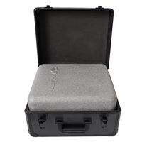 DJI Phantom 4 Carrying Case without lining accept original foam package Aluminum alloy + ABS material for rc drone