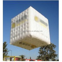 2016 Best selling Customerized inflatable helium square balloon giant PVC cube balloon advertising rectangular balloons