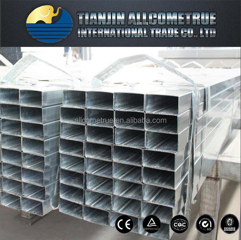 SCHEDULE 20 RECTANGULAR GALVANIZED STEEL PIPE 285