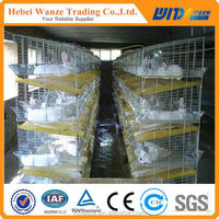 Easy installation commercial rabbit farming cages / rabbit breeding cages with quality guarantee(20 years' factory)