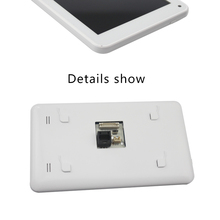 7 inch 8GB Android 4.4 RK3188 quad core flush mount wall tablet