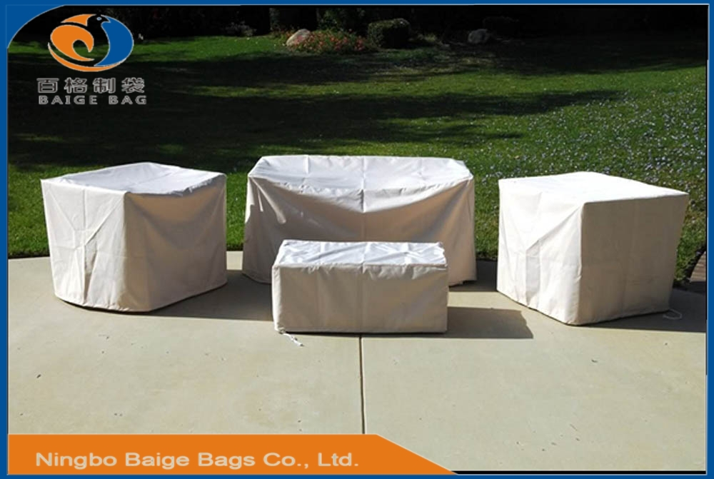 Bsci Audited Factory Waterprood And Uv Proof Protective Outdoor Garden Furnit