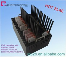 Best quality and price of 32 Ports modem for sending sms gsm modem pool with free sms software