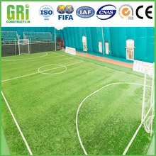 Double Color Rubber Backing Football Grass Lawn Synthetic Football