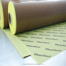 Easy To Use High Temperature Non Sticky Teflon Coated Fiberglass Adhesive Tape For Mould Release