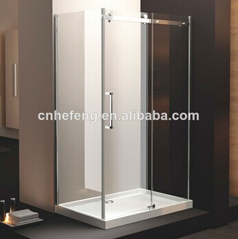 Frameless glass shower enclosure ,shower cabin and price K-M3