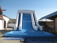 giant inflatable slide/commercial water pool slide for park
