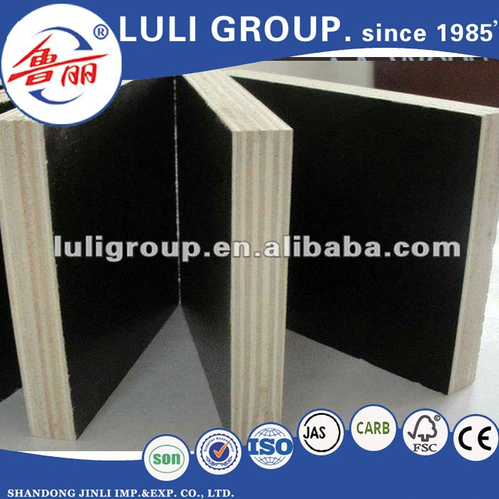 black browm film faced plywood from LULI GROUP