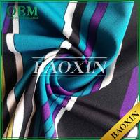 China supplier Latest design 100 Poly jacquard jersey knit fabric