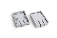 Plastic circuit board retainer injection mould