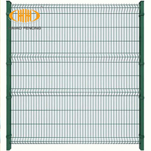ECO Friendly Decorative PVC coated Welded Wire Mesh Fence for Garden Fence