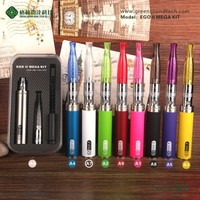E cig mod GS eGo Mega Kit eGo real 2200mah battery disposable electronic cigarette with best price