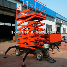 mini electric hydraulic motorcycle lift/ mobile electric lift table work platform