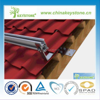 Home tile roof mount 15kw grid-tie residential solar system