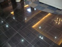 Black wood marble flooring tiles