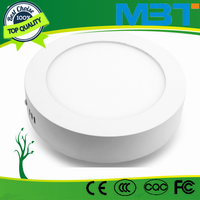 2016 hangzhou High power Modern design hot sales LED circular ceiling panel light with smd 2835 leds mbt
