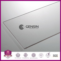 Gensin 0.8mm-1.5mm Clear Solid Polycarbonate lighting Sheet
